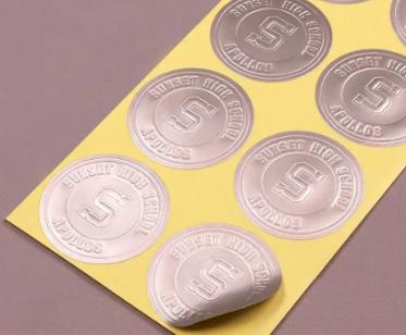 embossed-metallic-silver-sticker